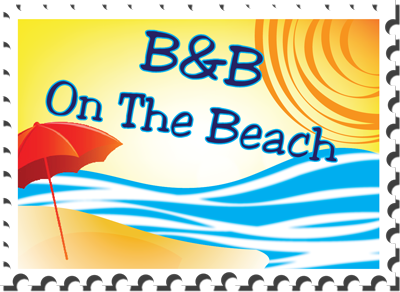 logo b&b on the beach